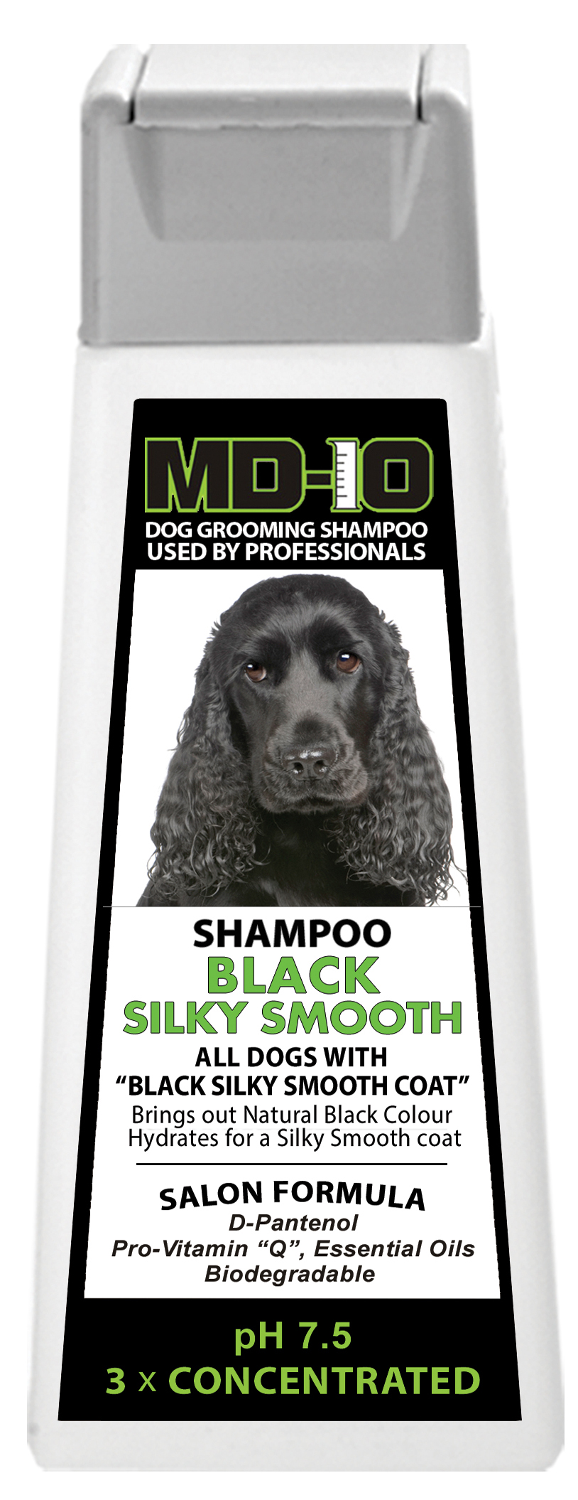 Shampoing MD10 Black Silky Smooth