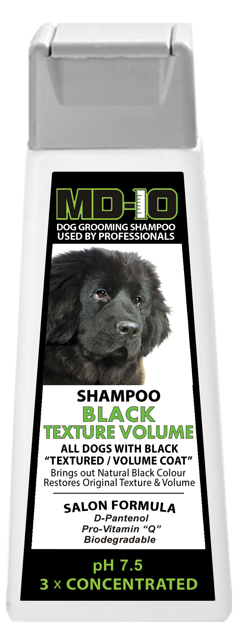 Shampoing MD-10 Black Texture