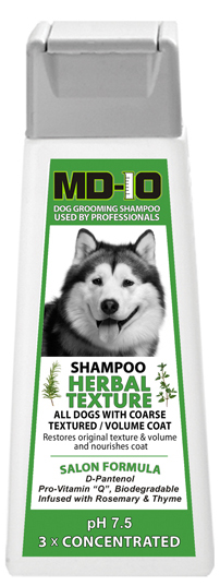shampoing MD-10 Herbal Texture