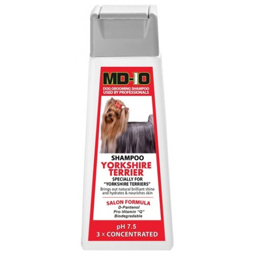 SHAMPOING YORKSHIRE TERRIER